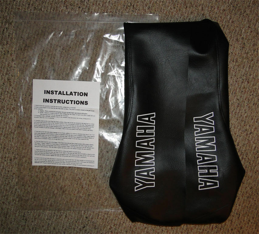 1980 - 1985 YAMAHA SS 440 VINYL REPLACEMENT SEAT COVER