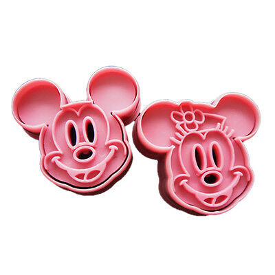 Fondant Cake Cookie Cutter Mold Mould Cartoon DIY Fun Mickey