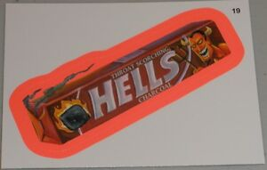WACKY PACKAGES SERIES #9 - HELLS THROAT LOSENGER - RED ...