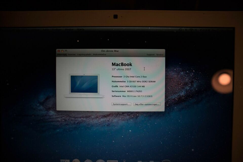 MacBook, 2007, 2 GHz