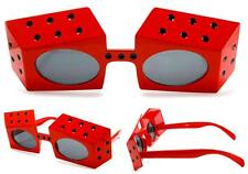 2 pair PLAYING DICE NOVELTY PARTY GLASSES sunglasses #281 men ladies NEW unusual