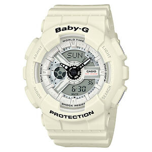 842e0e369d78a CASIO BABY-G BA-110PP-7AER LADY OR BOY WHITE 4549526136528