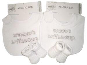 """Sonderabschnitt Baby-geschenkset """"mummys & Daddys Little Girl"""" Baby Zwillinge Geburt Taufe Zwillinge"""