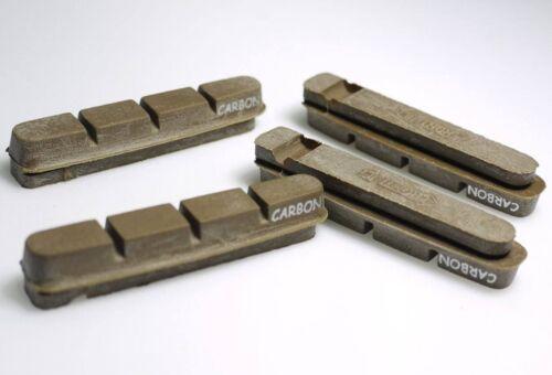 2PR ROAD BIKE BRAKE PADS SHOES CARBON RIM CORK SUIT SHIMANO Dura Ace Ultegra 105