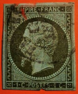 Marcophilie:EMPIRE NON DENTELE N° 11 (TB - 1043-4) OBLITER. Cad Rare Cote + 100€
