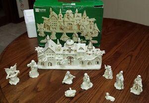 Jcpenney Hc Town Of Bethlehem 10 Pc Tea Light Nativity