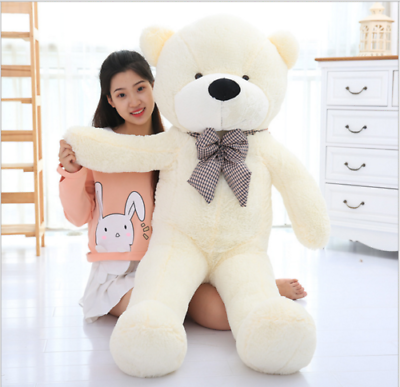 New-Large-Teddy-Bear-XXL-Giant-Teddy-Bears-Big-Soft-Plush-Toys-Kids-80-100-120cm