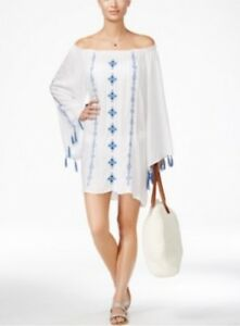 1b6ec0a2e9162 NEW Raviya Embroidered Off Shoulder Women s Swimsuit Tunic Cover Up ...