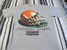 Nfl Cleveland Browns NECESSARY ROUGHNESS T SHIRT ADULT MEDIUM LOOK