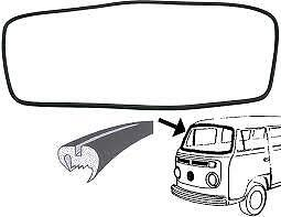 VW T25 Transporter Windscreen Seal Front 1980-90 Type 25 T25 //T3