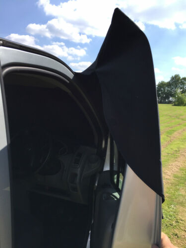 Ford Transit Custom ventana frontal cubierta de la pantalla Negro fuera ciego Frost ojos apedreado
