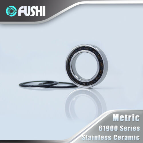 6900 Hybrid Bearing Bicycle Hub Wheel 440C Ring With Si3N4 Ceramic Ball 1 PC