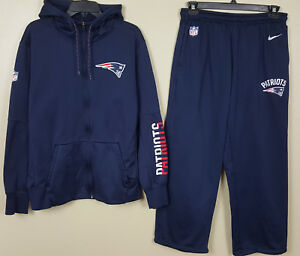 Brave Nike New England Patriots Sweatsuit Hoodie large Pants Team Issued Nfl Rare To Produce An Effect Toward Clear Vision