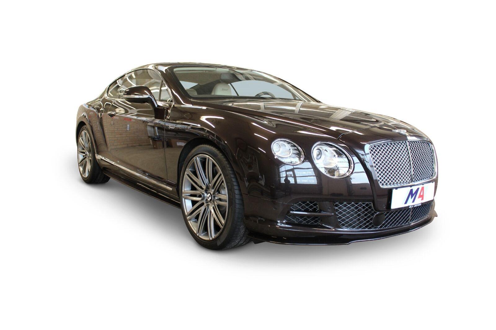 Bentley Continental GT 6,0 W12 Speed aut. 2d