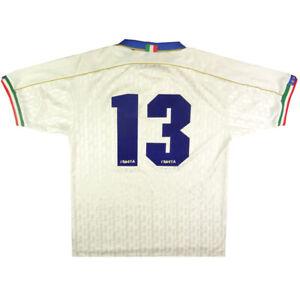 1994-96-Italia-Maglia-Away-13-Match-Issue-L-SHIRT-MAILLOT-TRIKOT