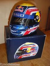 Mark Webber signed Red Bull 1/2 scale helmet *RARE*