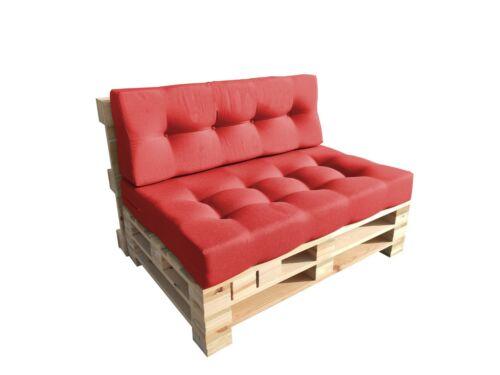 Eleganti cuscini trapuntati per mobili in pallet per interni ed esterni Per il giardino