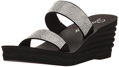 Skechers Cali Damenschuhe Bohemian Arrow Lil Bloom Platform Dress Sandale