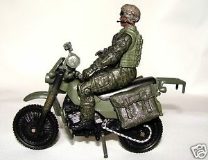 1:18 BBI Elite Force Figure soldier with dirt Bike