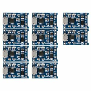 10Pcs-5V-mini-USB-1A-18650-TP4056-Lithium-Battery-Charging-Board-With-Prote-U3A7