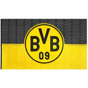 Bvb Hissfahne Borussia Dortmund Fahne Osen Bvb Logo 250x150 Bvb Fanartikel Ebay