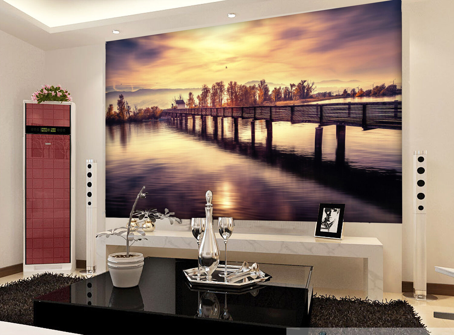 3D Tranquil scenery 236 Wall Paper Print Wall Decal Deco Indoor Wall Murals