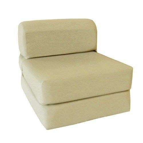 Superb Details About Choose Size Single Twin Full Sleeper Chair Seat Mattress Folding Foam Bed Alphanode Cool Chair Designs And Ideas Alphanodeonline