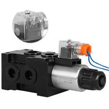 12v Hydraulic 6 Port Solenoid Diverter Selector Valve 13gpm Hsv6 C1 Spool