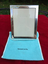 """Authentic 5.5"""" x 4.25"""" TIFFANY & CO MAKERS Picture Photo Frame * Original Pouch!"""