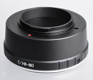 Olympus OM Lens to Olympus Micro Four Thirds m4/3 m 4/3 mount adapter ring MF-2