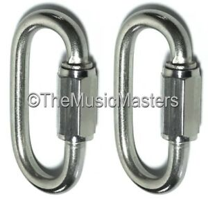"Boat Parts Generous 2x Stainless Steel 5/16"" Chain Link Connector Boat Rope Dock Line Mooring Splice Complete In Specifications"