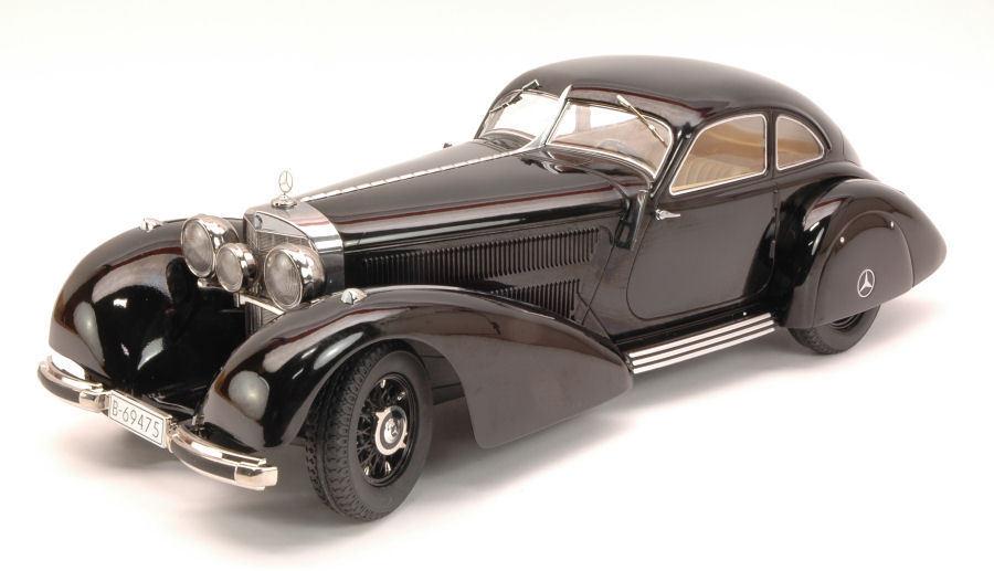Carnaval de Noël, bonne bonne bonne offre à Noël Mercedes Benz 540K Autobahnkurier 1938 Black KK Scale 1:18 KK180081 | Commandes Sont Les Bienvenues  | élégante Et Gracieuse  8dbf7b