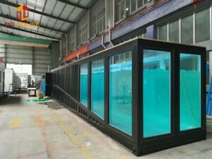 Details about Swimming / Aquarium Pool 20ft. Length Safe Room Designs  Container