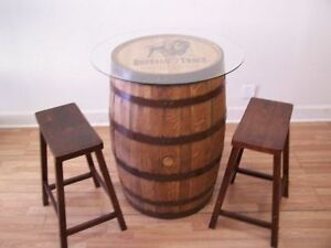 Image Is Loading Buffalo Trace Whiskey Barrel Table 30 034 Gl