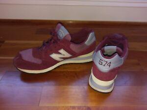 new balance granate hombres zapatillas