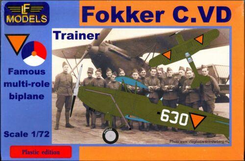 LF Models 1//72 FOKKER C.VD Dutch Trainer