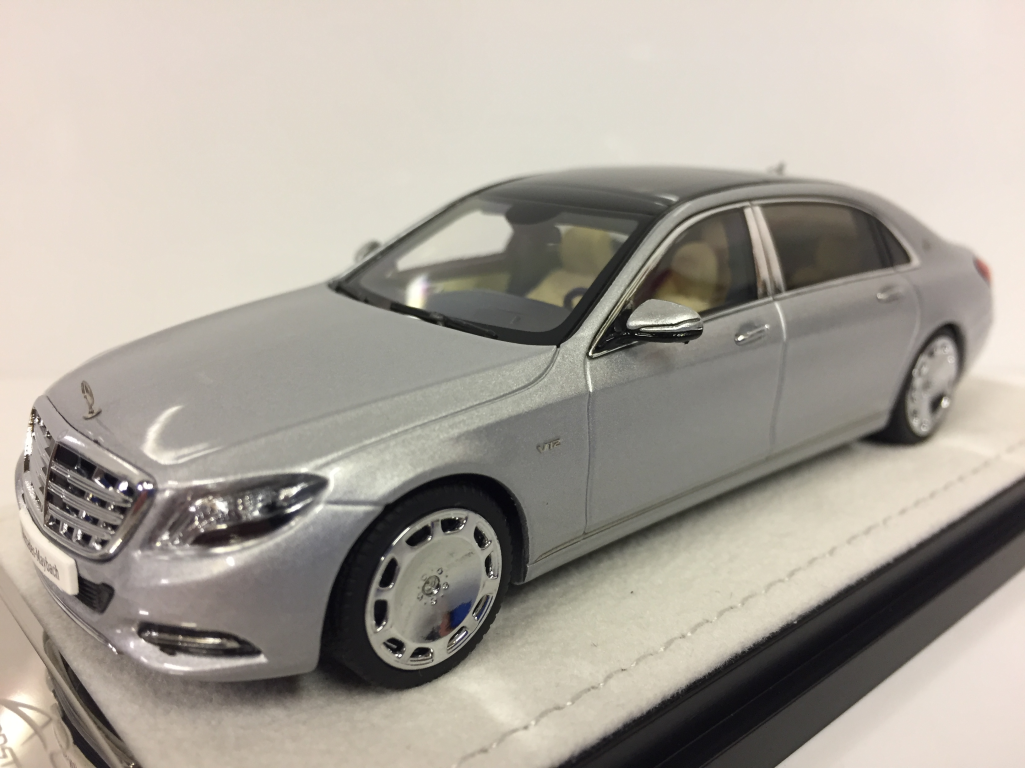 Almost real 420103 MERCEDES MAYBACH 2016 S-Class 2016 MAYBACH Iridium silbern 1:43 f763a4