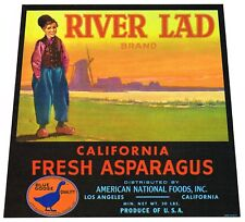 CRATE LABEL VINTAGE ADVERTISING BOY 1950S PETE /'S PETER BEST APPLE USA ORIGINAL