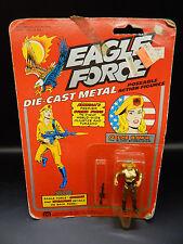 1981 vintage EAGLE FORCE toy GOLDIE HAWK action figure MOC sealed MEGO diecast !
