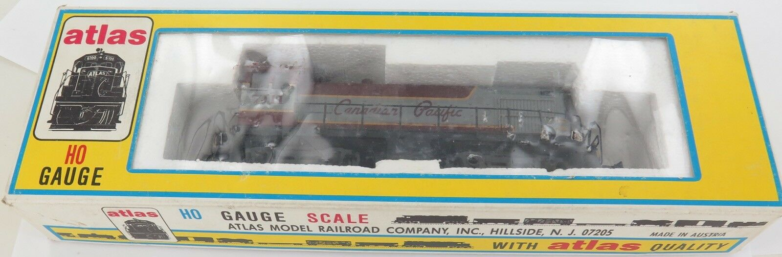 Atlas. 8282  7111 Canadian Pacific  Motor H o escala + Caja Original.
