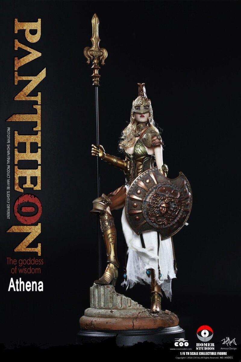1 6 Coomodel X Homer HS001 Panthean Athena   Goddess of wisdom Action Figure