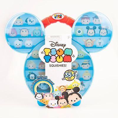 New Disney Tsum Tsum Squishies Carry Case + Exclusive Tsum Tsum Figure - Squishy
