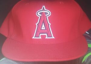 fecde2117b5878 Anaheim Angels LAA MLB Authentic New Era 59FIFTY Fitted Cap - 5950 ...