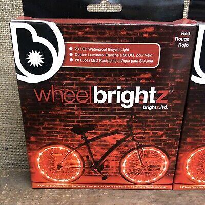 for 1 Wheel Orange Brightz WheelBrightz LED Bicycle Wheel Accessory Light
