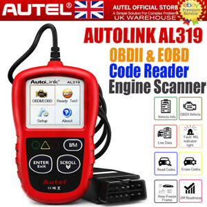 sale! Autel AL319 OBD2 Scanner Automotive Engine Fault Code Reader CAN Scan Tool