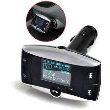 "1.5"" LCD Car Kit Bluetooth MP3 Player SD MMC USB Remote FM Transmitter Modulator"