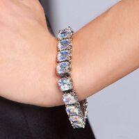 Park Lane signature Tennis Bracelet - Aurora Borealis - Orig $551 - Read