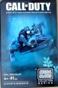 AgréAble Mega Bloks Call Of Duty Seal Specialist Collector Construction Set Cng72-afficher Le Titre D'origine