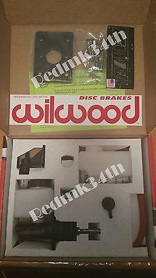 Wilwood Brake Booster Delete Kit Honda Civic Integra EG/EK/DC & BWR Plate Black