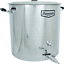 18-5-Gallon-Brewmaster-Stainless-Steel-Brew-Kettle-Homebrew miniature 1